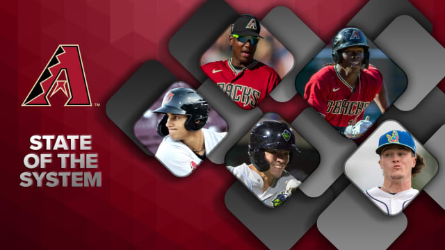 Here's the state of the D-backs' farm system