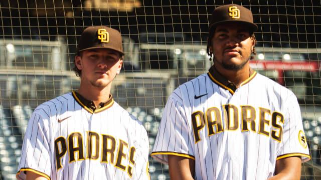 Notes: Prospects visit SD; Pham; bullpen