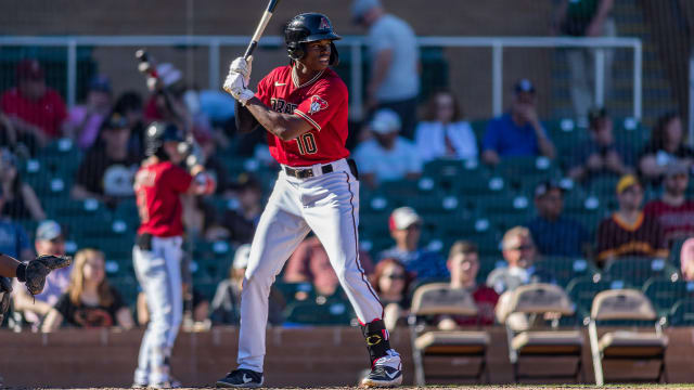 D-backs' No. 1 prospect added to player pool
