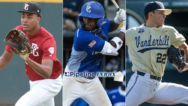 Inbox: HS Draft prospects, Leiter, more
