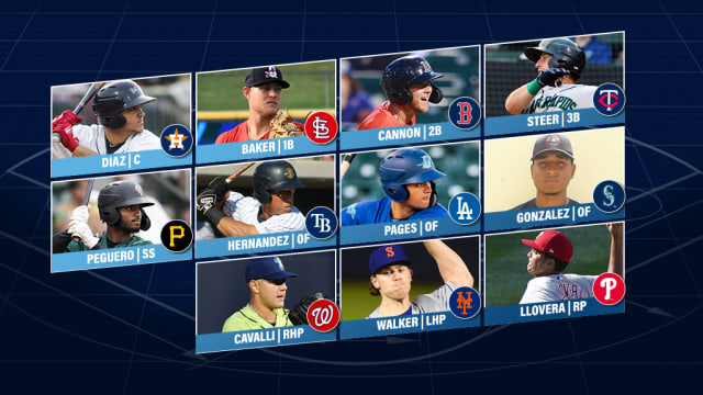 First-timers lead Prospect Team of the Week