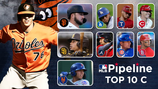 Here are MLB's 10 best catching prospects