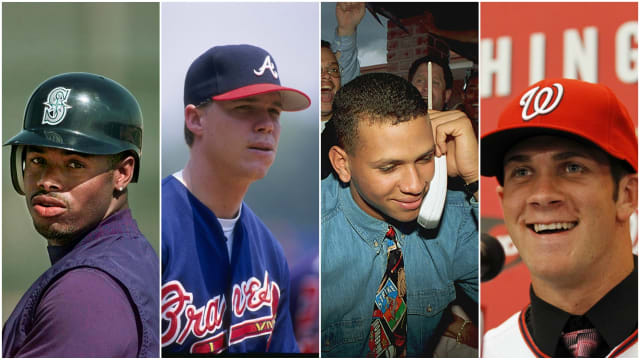 Every No. 1 overall Draft pick in MLB history