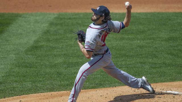 Braves swept, but rotation gives hope