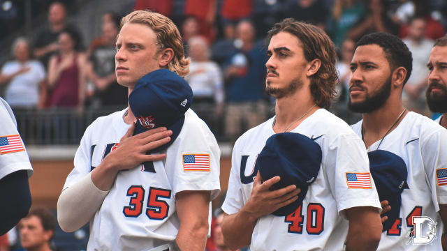 Baz pitching for USA 'once in a lifetime'