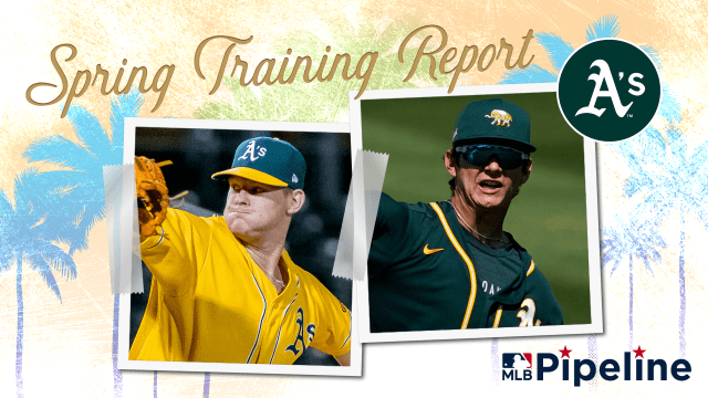 A's Minor League Spring Training report