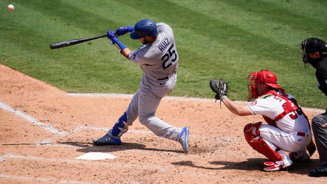 'Baseball's easy': Ruiz homers in 1st MLB AB