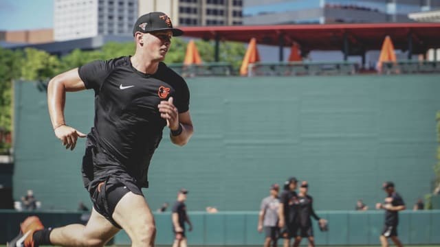 Adley relishes 'unbelievable' time at O's camp