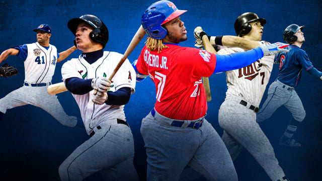 Here are all of our No. 1 overall prospects, ranked