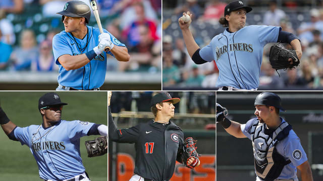 Mariners prospect report from alternate site