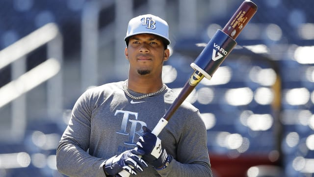 Top prospect Franco part of Rays' player pool