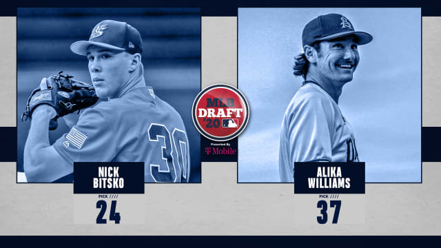 Rays fare well with pitcher-heavy '20 Draft class