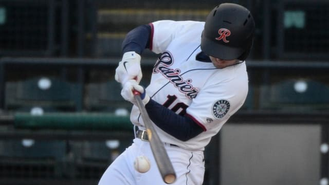 Kelenic homers twice, drives in four