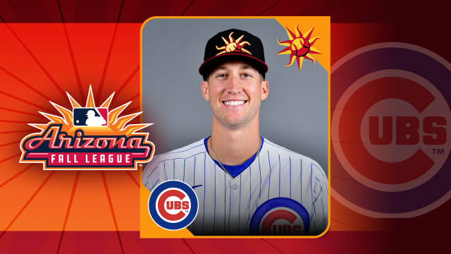 Prospect from KB deal among Cubs in AFL
