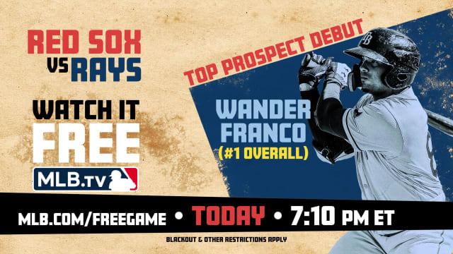 Watch Wander's debut free on MLB.TV