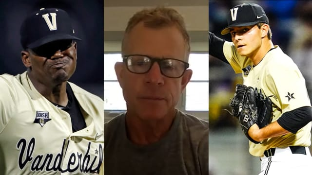 Coach on Vandy's 2 'different' star pitchers