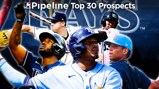 Here are the Rays' 2021 Top 30 Prospects