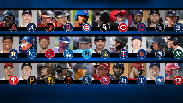 Here is each team's top future slugger