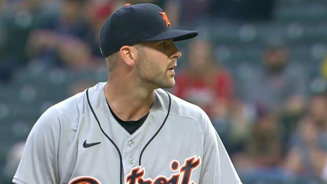 Lange inspires confidence in MLB debut