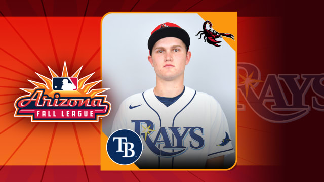 Next up in Rays prospect's big season? AFL