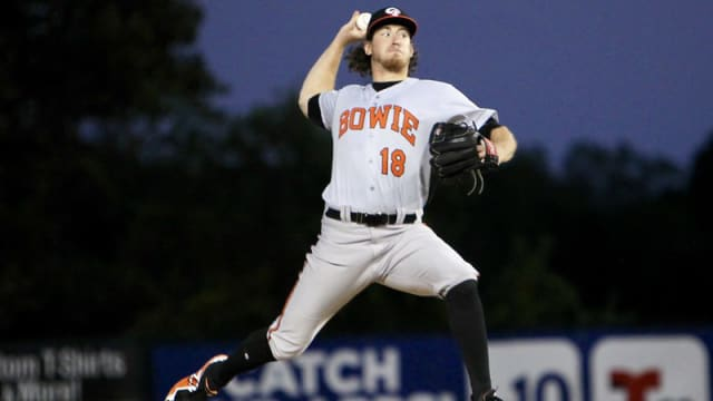 Get to know O's No. 8 prospect Baumann