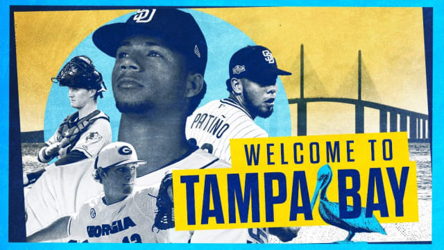 Rays acquire 4 players from SD for Snell