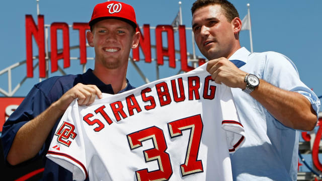 The top Nats Draft pick from every season