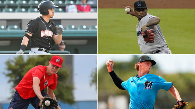 Marlins prospect report from alternate camp