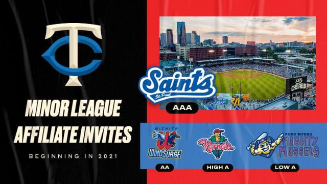 Twins invite St. Paul among 4 MiLB affiliates