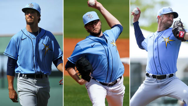 Rays option trio; OD roster takes shape