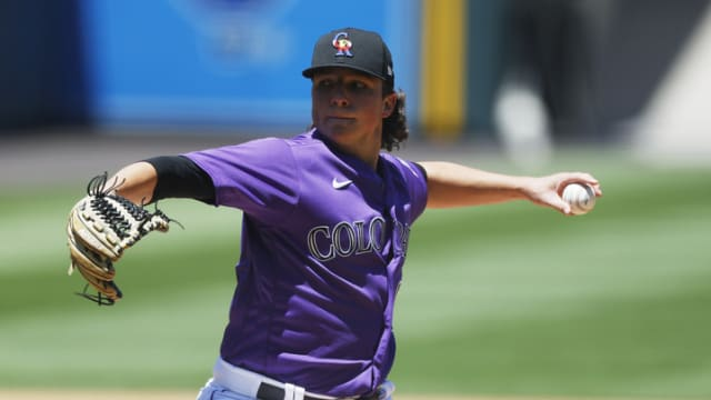 Rox prospect Rolison gets intrasquad experience