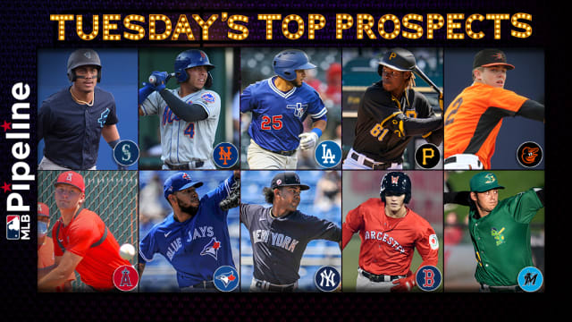Tuesday's top prospect performers