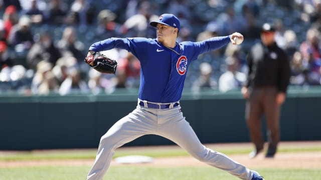 Steele slated to join Cubs rotation vs. Crew