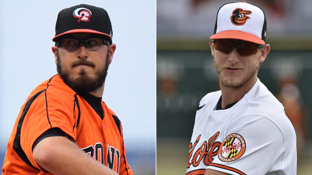 O's prospects Lowther, Bannon have history