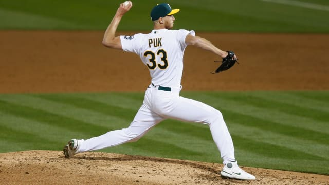 Puk pristine in debut; is rotation spot near?