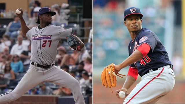 Top Marlins, Nats prospects duel tonight