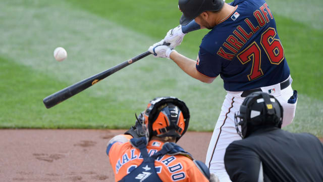 With first MLB hit, Kirilloff stands alone