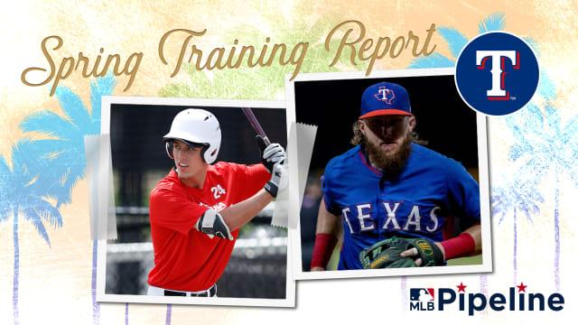 Rangers Minor League Spring Training report