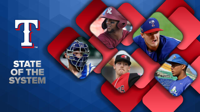 Here's the state of the Rangers' farm system