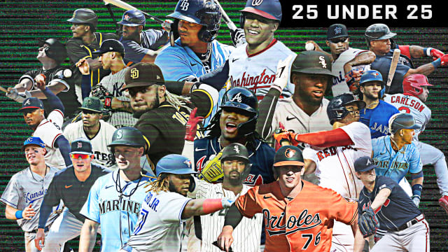 Baseball's 25 best players under 25