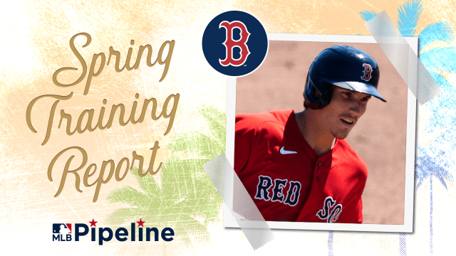 Red Sox Minor League camp report
