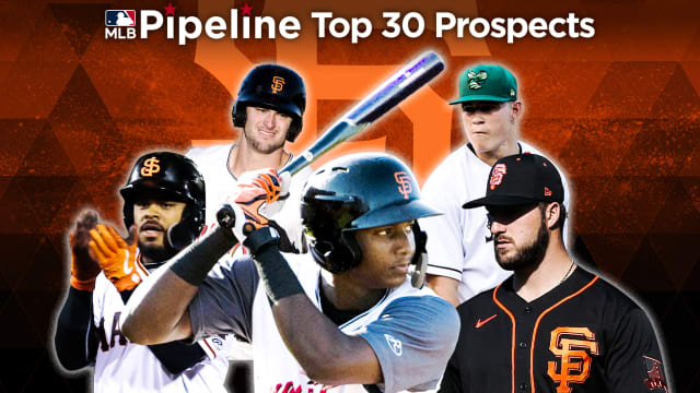 Here are the Giants' 2021 Top 30 prospects
