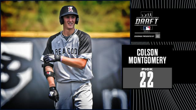 Sox pick SS Montgomery No. 22 overall