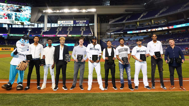 Marlins hand out 2021 Minor League awards