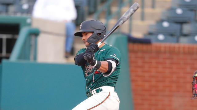 Gonzales slugs homer in 4-hit day