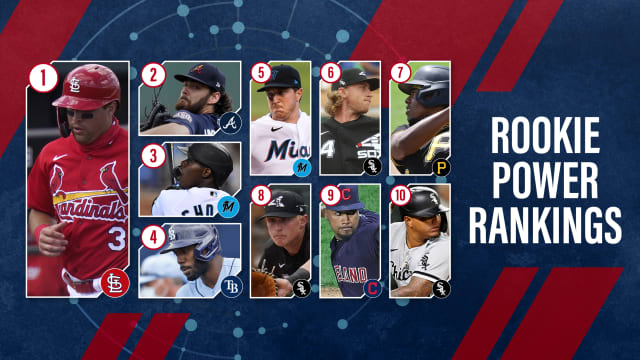 New No. 1 tops Rookie Power Rankings