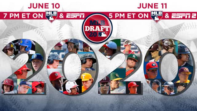 MLB announces 2020 Draft schedule