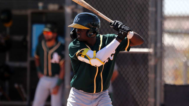 Phenom, 17, looks headed for A's player pool