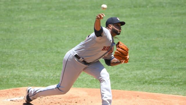 James back to Astros' bullpen; Bielak to start