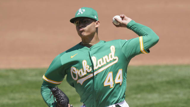 Luzardo's first MLB win is A's 9th straight